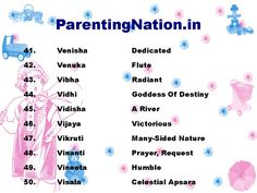 8 best Vrushabh Rashi Baby Girl Names With Meaning images