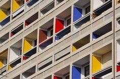 Corbusier's Cité Radieuse, Marseille