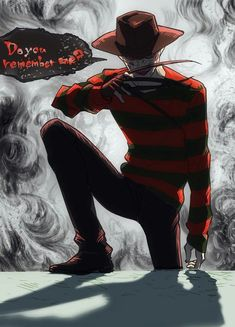 Dead by Daylight, Freddy Krueger, The Nightmare, Horror Characters, Horror Movies Freddy Krueger, Horror Icons, Horror Films, Horror Art, Halloween Horror Movies, Scary Movies, Spooky Pictures, Terror Movies, Freddy's Nightmares