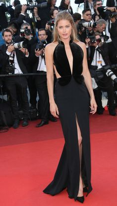 Doutzen Kroes: http://www.stylemepretty.com/2016/05/18/cannes-film-festival-red-carpet-fashion/