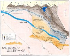 an in depth look at Santa Maria Valley AVA, in Santa Barbara County, California