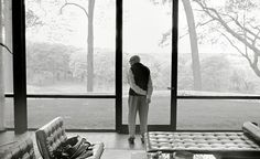 Philip Johnson, the Glass House