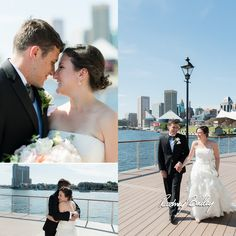 Four Seasons Baltimore Maryland Wedding | Rodney Bailey Wedding Photography Baltimore MD | Wedding Photography Baltimore | Photographer Maryland | Feats Inc | Couple | First look | Waterfront Baltimore