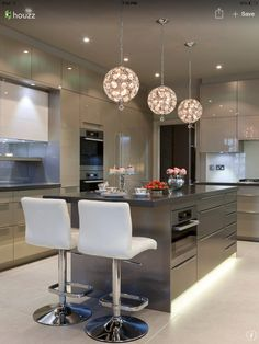 Beautiful kitchen with incredible lightening  #modernkitchen #lightening