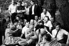Юрий Гагарин и Михаил Шолохов, 1967 год - Позитив из Города Солнца