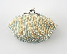 Nihon Vogue crochet beaded coin purse. #mermaidstyle