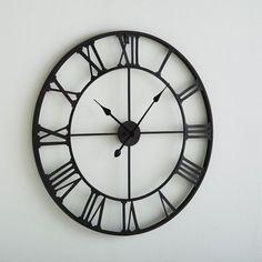 Relógio de parede em metal Zivos