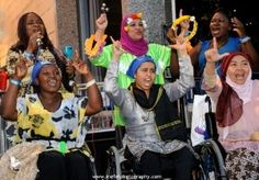 """""""Loud, Proud and Passionate."""" Mobility International USA (MIUSA), has conducted a series of leadership programs, the Women's Institutes on Leadership and Disability (WILD), to build a cadre of women leaders with disabilities throughout the world who understand the critical need for inclusive development. MIUSA has trained more than 176 women leaders with disabilities from over 80 countries."""