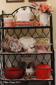 52 best bakers rack etagere images bakers rack craft rooms furniture rh pinterest com