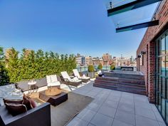 View this luxury home located at 293 Lafayette Street Ph I New York, New York, United States. Sotheby's International Realty gives you detailed information on real estate listings in New York, New York, United States. Porch And Terrace, Rooftop Patio, Luxury Apartments, Luxury Homes, Porches, New York Penthouse, Lafayette Street, Downtown New York, New York Homes