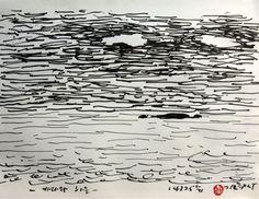 https://www.facebook.com/sahong.gum Gum-Sahong Drawing.Sea,Song of my Life 금사홍,드로잉