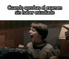 Spanish Jokes, Funny Spanish Memes, Funny Memes, Stranger Things Funny, Stranger Things Netflix, Starnger Things, Saints Memes, It The Clown Movie, Will Byers