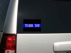 Police Law Enforcement Support Thin Blue by LuckyGirlDesignLoft
