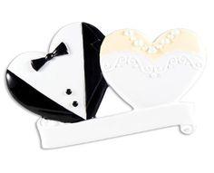 Groom and Bride Hearts