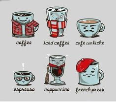cute coffees