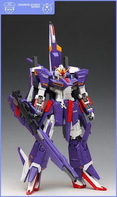GMG 1/100 MSZ-008 Zeta II Gundam: Modeled by SENDO