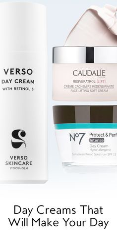 Need a new daytime moisturizer? You're on the right URL. We broke down a few day creams that will, well, they'll make your day.