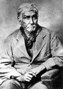 Jesse Chisholm - Scot-Cherokee Indian trader, guide, and interpreter, was born in the Hiwassee region of Tennessee, probably in 1805 or 1806. His father, Ignatius Chisholm, was of Scottish ancestry and had worked as a merchant and slave trader in the Knoxville area in the 1790s. Around 1800 he married a Cherokee woman in the Hiwassee area, with whom he had three sons; Jesse was the eldest. Sometime thereafter Ignatius Chisholm separated from Jesse's mother and moved to Arkansas Territory.