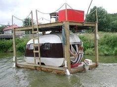 shanty boat | Budget Boating:Houseboats/Shantyboats/Minimalist Cruising | Money is a ...
