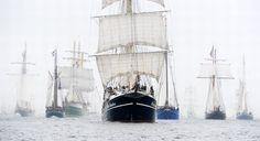 "The ""Tall Ships Races"" event takes place every 4 years, with over 110 vessels reaching Helsinki from July 17th on."