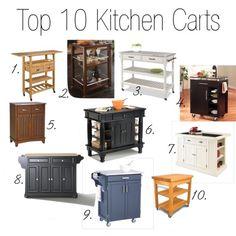 Top 10 Kitchen Carts