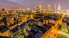 Widok na Centrum Warszawy, Filip Bramorski