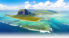 Mauritius Island Underwater Waterfall,  Mauritius