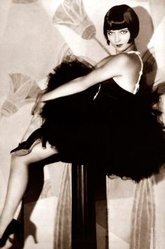 Louise Brooks Vintage Fashion Icon 20s Flapper 1920s Twenties Style Dancer  Repinned by www.fashion.net