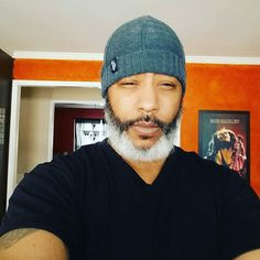 Looks like it's beard day!! #GrayHairMagic
