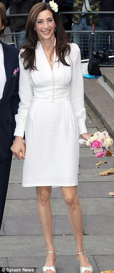 Stella McCartney designed wedding dress inspired by Wallis Simpson's wedding dress (American socialite who married Prince Edward VIII)