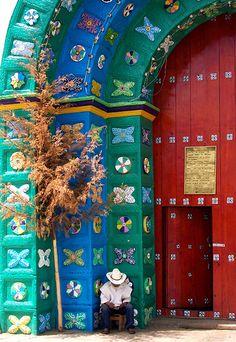 Puertas, San Juan Chamula, Chispas, México