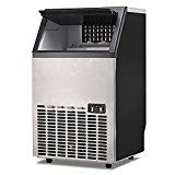 Portable Commercial Ice Cube Maker Machine Home Bar BBQ Party Restaurant 400W