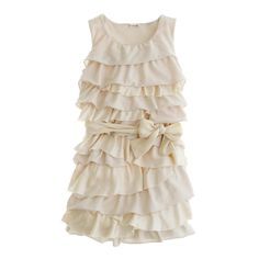 Girls' Rosalie twisted dress : party dresses | J.Crew