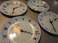 New Arrival- Mini Clock Plates (SOLD)   Paper Street Market