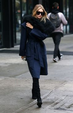 Gigi Hadid Will Make You So Happy It's Coat Weather