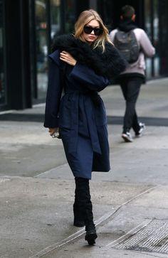 Gigi Hadid Will Make You So Happy It's Coat Weather