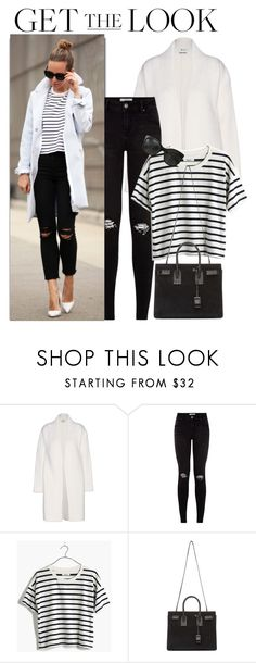 """""""Blogger Style - Brooklyn Blonde"""" by monmondefou ❤ liked on Polyvore featuring Acne Studios, Madewell, Yves Saint Laurent, Chanel, blogger and BloggerStyle"""