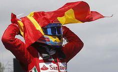 Alonso volvió a triunfar en Montmeló muchos años después.