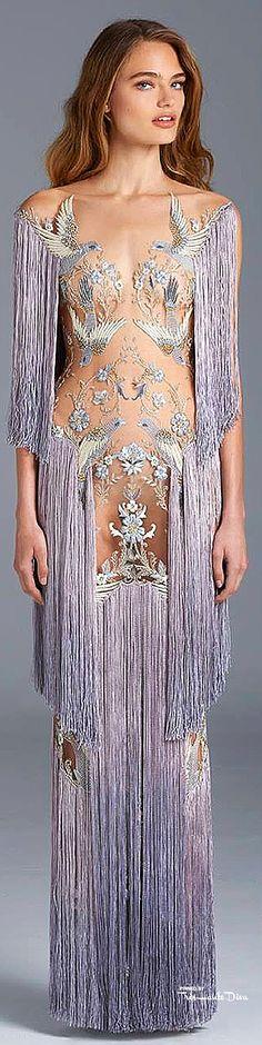 Très Haute Diva ♔ Paolo Sebastian Couture SS15 ♔ to view the entire collection visit my website http://www.treshautediva.com/treshautedivablog