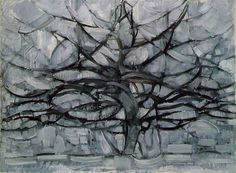 Piet Mondrain, Gray Tree, 1912