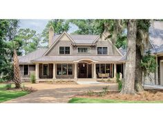 Low Country House Plan with 5111 Square Feet and 5 Bedrooms from Dream Home Source | House Plan Code DHSW077024