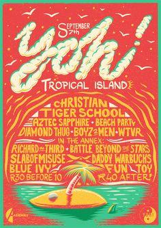 Yoh! Tropical Island on Behance