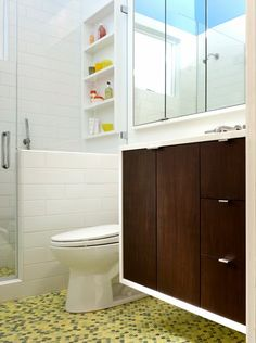 To da loos: Family friendly masterbath & kids' bathroom