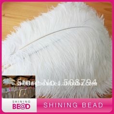 decoration ostrich feather,white ostrich feather for wedding decoration,free shipping,hot sale ostrich feather for holiday-in Feather from I...