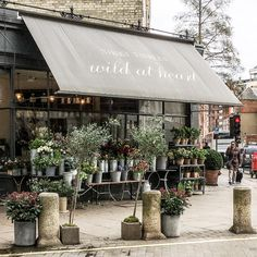 London has some seriously lovely flower shops, and this one in Chelsea is a good example.