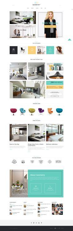 Geometry – Interior Design & Furniture on Inspirationde