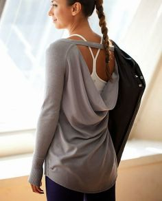 lululemon Unity Pullover… wear my version of this around the house to lounge and on weekends