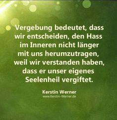 Vergebung  --Kerstin Werner