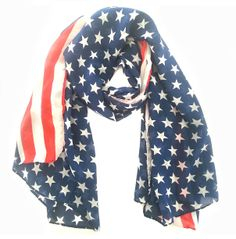 Pañuelo América - PVP: 7.99€ - Más información en la web: http://ohlalabijoux.com/panuelos/397-panuelo-america.html