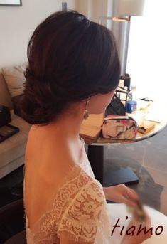 素敵なドレスでホテル婚♡大人可愛い3スタイルのお綺麗な花嫁さま  大人可愛いブライダルヘアメイク『tiamo』の結婚カタログ
